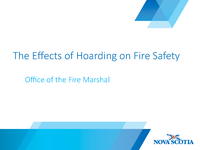 Hoarding and Fire Safety